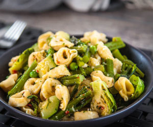 Tortellini with Spring Vegetables