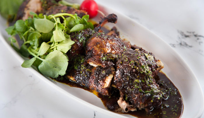 Mandaean Spiced Duck