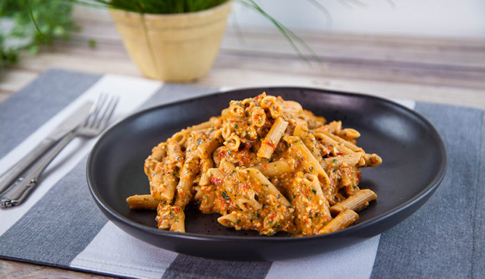 Roasted Tomato Pesto with Pulse Penne