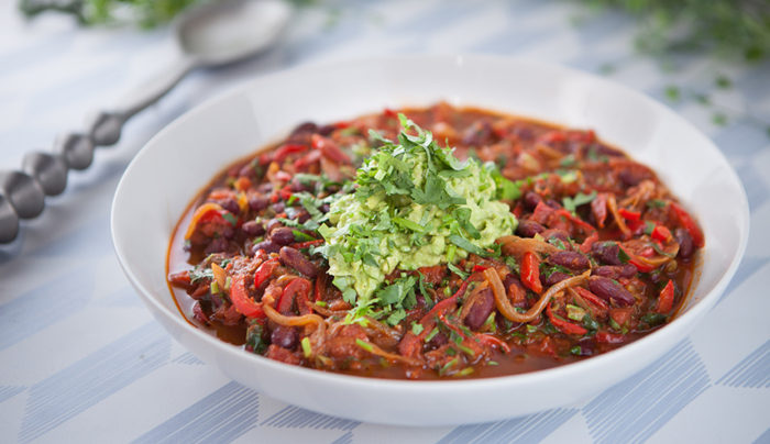Vegan Coffee Chilli Con Carne