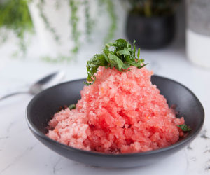 Tomato and Watermelon Granita