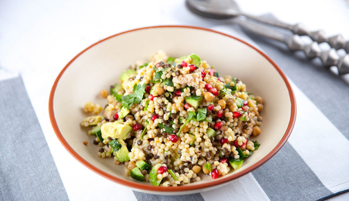 Pearl Couscous Super Salad