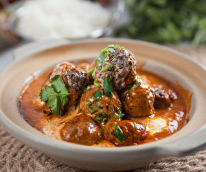 Indian Spiced Meatballs in Curry Sauce