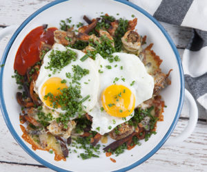 Vegetarian Big Breakfast Fries