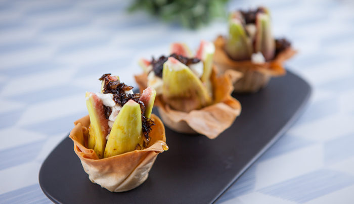 Fig & Goats Cheese Tartlets