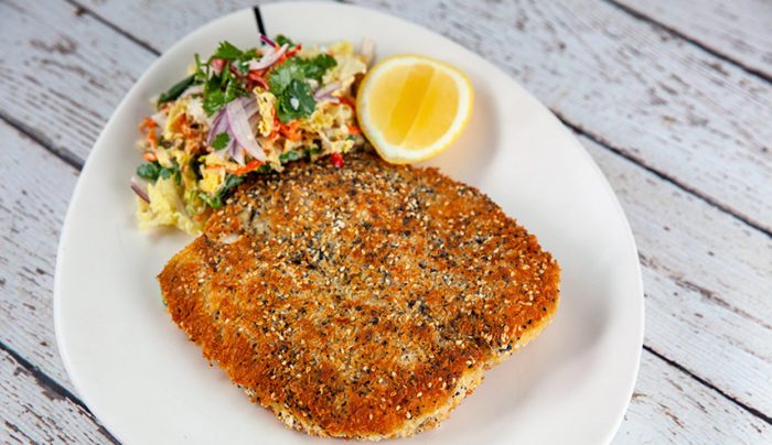 Sesame and Poppy Seed Crumbed Chicken