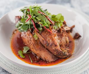 Slow Cooked Beef Ribs Sichuan Style