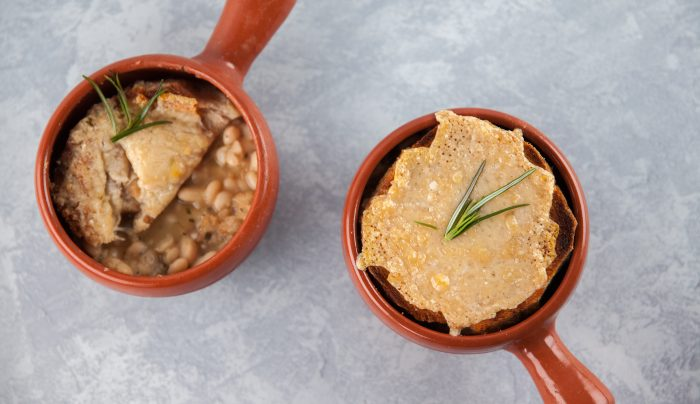 White Bean French Onion Soup