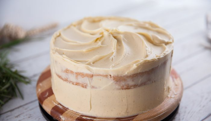 Sour Cream Vanilla and Maple Frosting