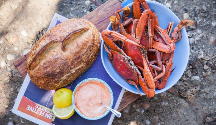 Blue Swimmer Crab with Chilli Mayo