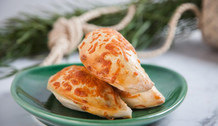Cheddar and Spinach Mini Calzones