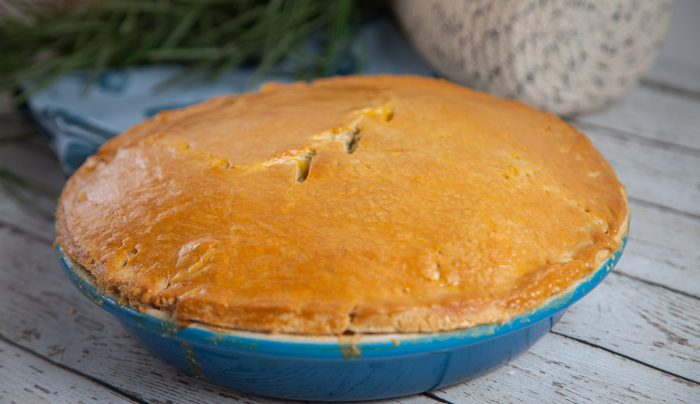 Kingfish Pie with Olive Oil Pastry