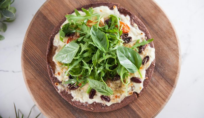 Cottage Cheese Protein Pizza