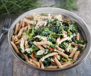 Protein Packed Chicken, Broccolini & Kale Pasta